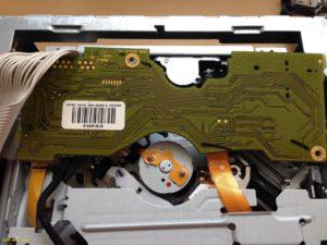 Wymiana lasera DVD90 CD70