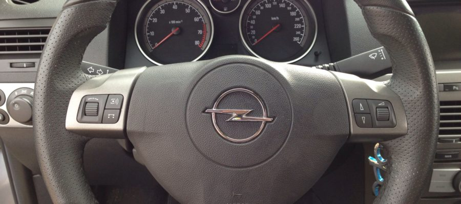 wymiana kierownicy ASTRA H GTC