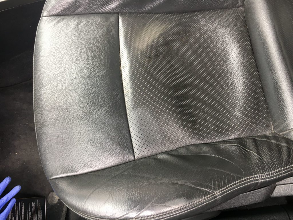 opel opc line fotel skora czyszczenie