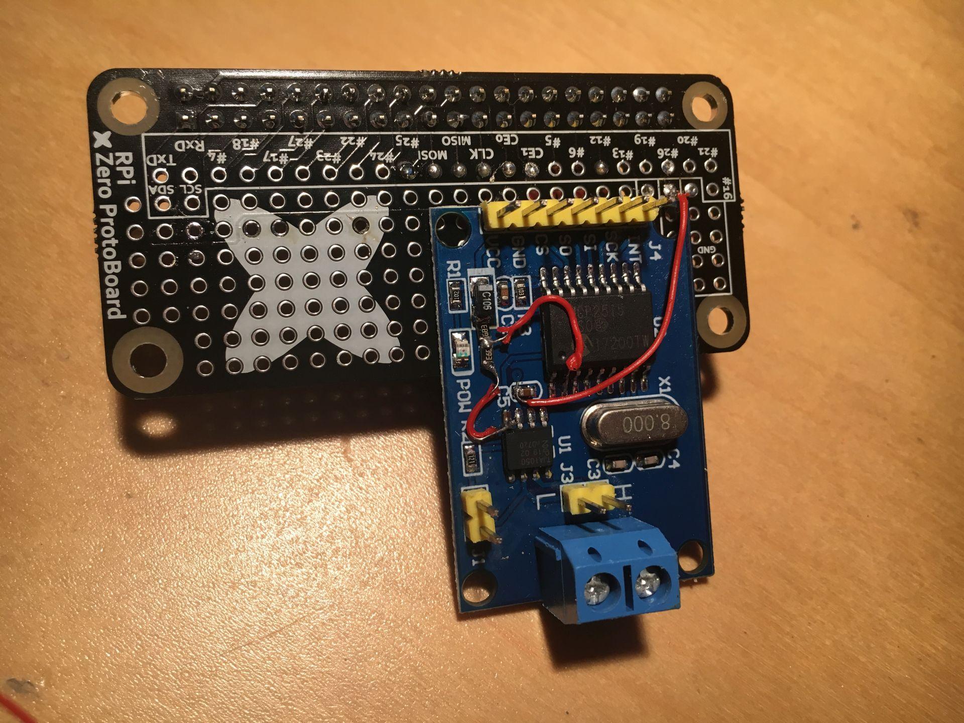 CAN Bus na MCP2515 i raspberryPi używając SocketCan - emvn pl